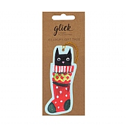 Glick Paper Salad Christmas Kittens Gift Tag (Pack of 6)