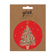 Glick Spruce Gift Tag (Pack of 6)