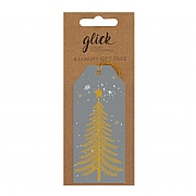 Glick Contemporary Tree Luggage Gift Tag (Pack of 6)