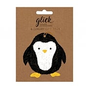 Glick Cute Penguin Gift Tag (Pack of 6)