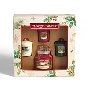 Yankee Candle 1 Small Jar & 3 Votives Gift Set