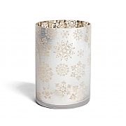 Yankee Candle Snowflake Frosted Jar Holder