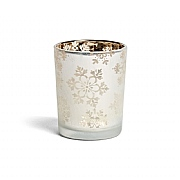 Yankee Candle Snowflake Frosted Tealight Votive Holder