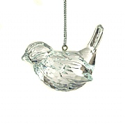 Floralsilk Crystal Bird Hanger
