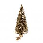 Floralsilk Gold Christmas Tree Clip