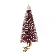 Floralsilk Red Christmas Tree Clip