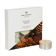 Wax Lyrical Winter Spice Tealights (Box of 9)