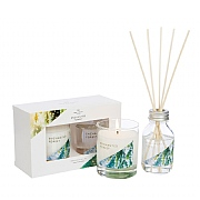 Wax Lyrical Enchanted Forest Candle & Reed Diffuser Gift Set
