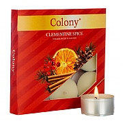 Colony Clementine Spice Tealights (Box of 9)