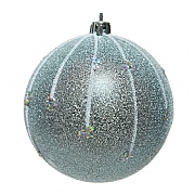 Decoris Artic Blue 80mm Bauble