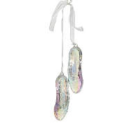 Decoris Ballerina Shoes Hanging Decoration
