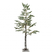 Lumineo 150cm Warm White LED Pine Tree with Snow