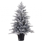 Everlands 3ft Frosted Grandis Fir Artificial Chrsitmas Tree