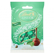 Lindt Lindor Mini Mint Bag 80g