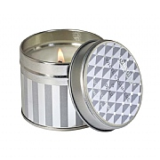 Stoneglow White Cashmere & Pear Candle Tin