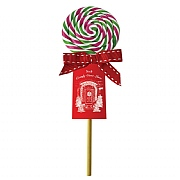 Red White & Green Spiral Lolly 55g