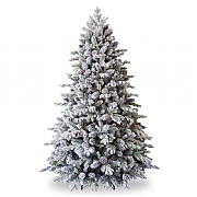 6.5ft Snowy Dorchester Pine Artificial Christmas Tree
