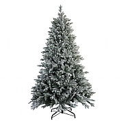 6.5ft Snowy Hamilton Spruce Artificial Christmas Tree