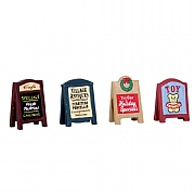 Lemax Village Signs (Set of 4)