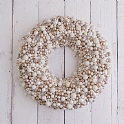 Gold & Champagne Berry Wreath