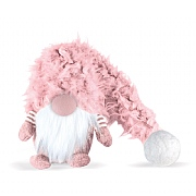 Small Super-Furry 40cm Winter Wendy Pink Christmas Snome