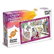 Roald Dahl Charlie & The Chocolate Factory 250 Piece Jigsaw Puzzle