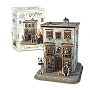 Harry Potter Diagon Alley Olivianders Wand Shop 3D Puzzle