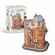 Harry Potter Diagon Alley Weasleys Joke Shop 3D Puzzle