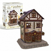 Harry Potter Diagon Alley Quidditch Supplies 3D Puzzle