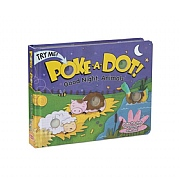 Melissa & Doug Poke-A-Dot! Good Night Animals Book