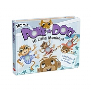 Melissa & Doug Poke-A-Dot! 10 Little Monkeys Book
