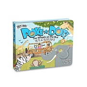 Melissa & Doug Poke-A-Dot! Safari Wheels on the Bus Book