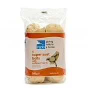 RSPB High Energy Suet Fat Balls with Sunflower Hearts (Pack of 6)