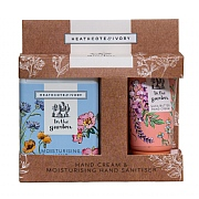 Heathcote & Ivory In The Garden Hand Cream & Sanitise Gift Set