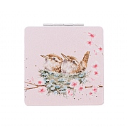 Wrendale 'Home Tweet Home' Bird Compact Mirror