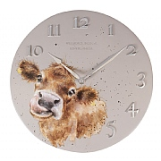 Wrendale 'Cow' Clock
