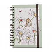 Wrendale 'Oops Daisy' A5 Spiral Notebook