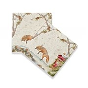 Kate of Kensington Christmas Post Coaster (Set of 2)