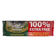 Peckish Extra Goodness Energy Balls (12 pack)