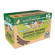 Peckish Natural Balance Energy Balls 50 Refill Box 4kg