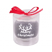 Rosewood Grey Merry Christmas Tennis Ball