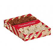 Rosewood Christmas Cheeseboard Platter Dog Treats Gift Box 200g