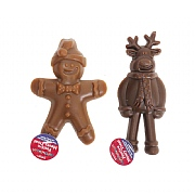 Rosewood Festive Gingerbread & Reindeer Meaty Treat 45g (Assorted Designs)