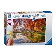 Ravensburger Peaceful Mill 500 Piece Jigsaw Puzzle