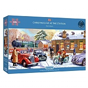 Gibsons Christmas Eve Station 636 Piece Jigsaw Puzzle