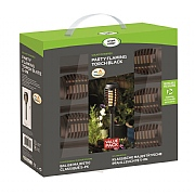 Smart Garden Party Flaming Torch 5pc Carry Pack - Black