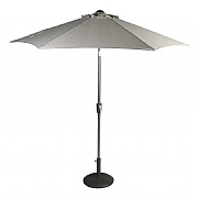 Supremo French Grey 3m Riviera Deluxe Parasol