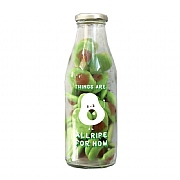 The Treat Kitchen Message Bottle - It's Allripe For Now (Avocado) 350g