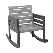 Florenity Grigio Rocking Chair & Seat Pad