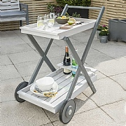 Florenity Grigio Drinks Trolley